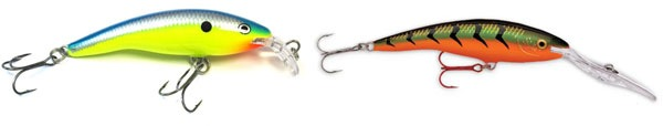 wobblers rapala tail dancer