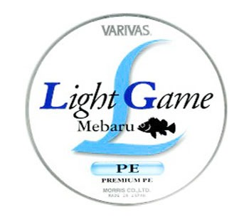 Шнур Varivas Light Game Mebaru PE #0.3 5lb